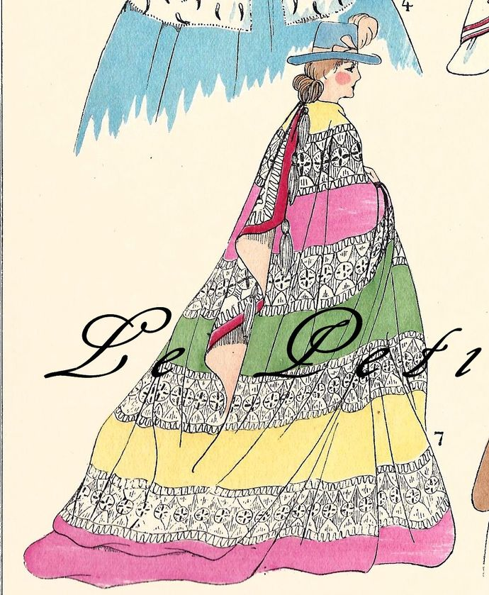 France's Second Empire Coat Couture 1925 by PetitPoulailler on Zibbet.