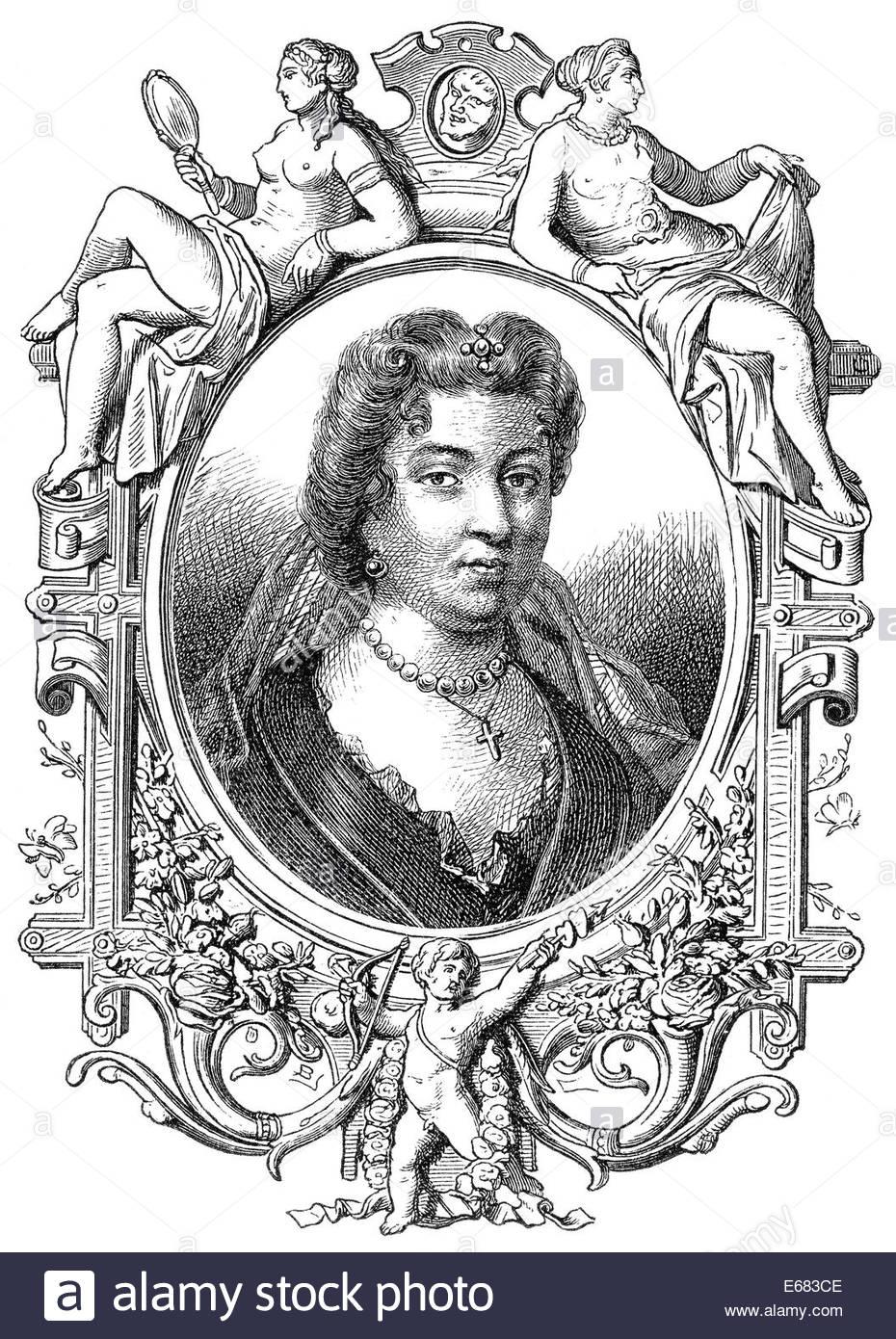 Françoise D'aubigné, Marquise De Maintenon, Or Madame De Maintenon.