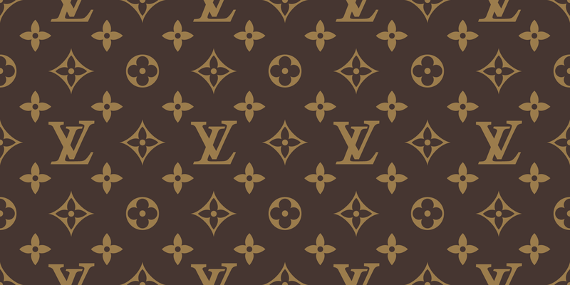 Free download of Seamless Louis Vuitton Pattern Vector.