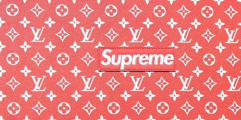 Louis Vuitton x Supreme Makes Its Official Debut.