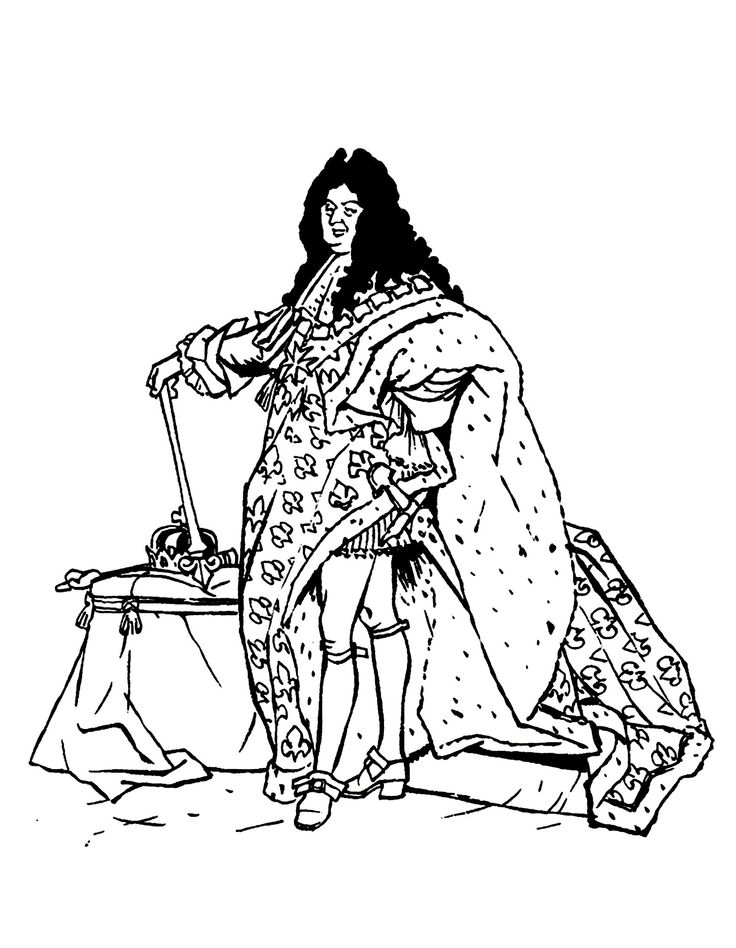 Louis xiv clipart Clipground