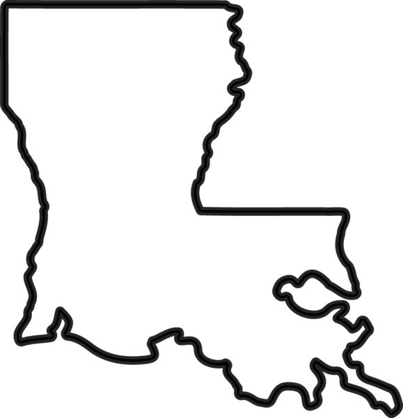 246 Louisiana free clipart.