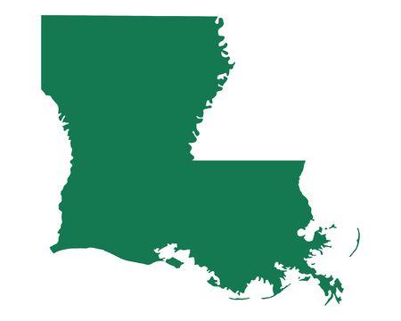 1,896 Louisiana Map Cliparts, Stock Vector And Royalty Free.