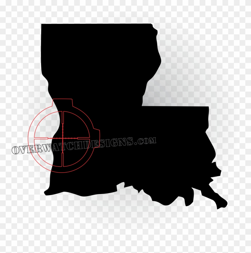 Louisiana New Map Clipart (#1478891).
