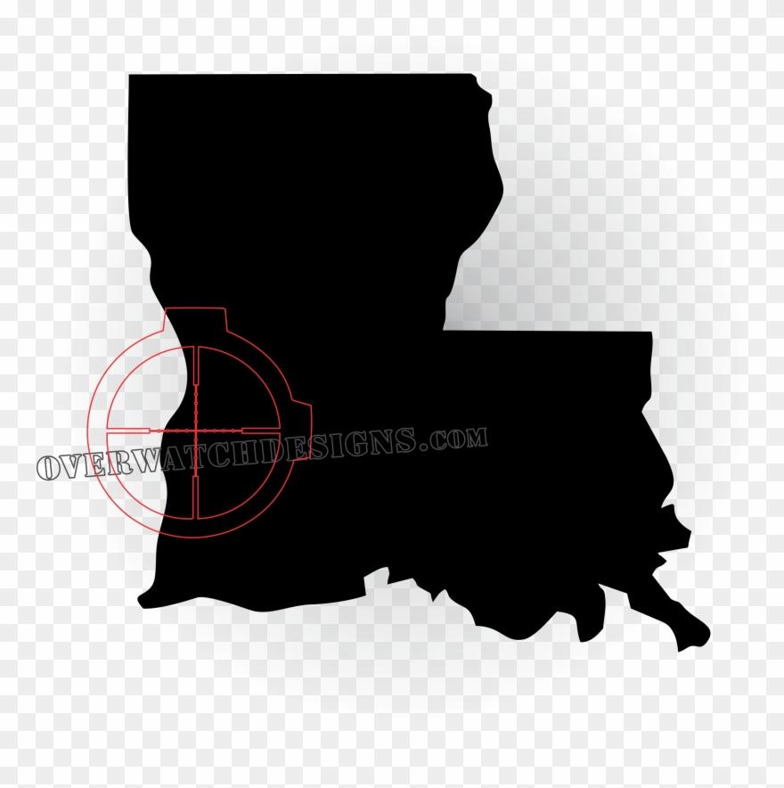 Louisiana New Map Clipart (#1478891).