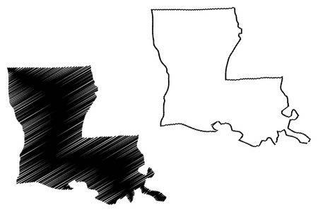 3,853 Louisiana Stock Vector Illustration And Royalty Free.