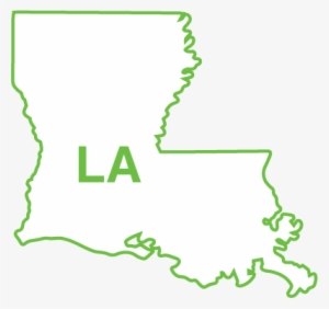 Louisiana Outline PNG, Transparent Louisiana Outline PNG.