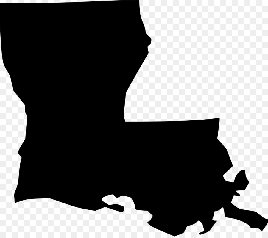 Louisiana Silhouette png download.