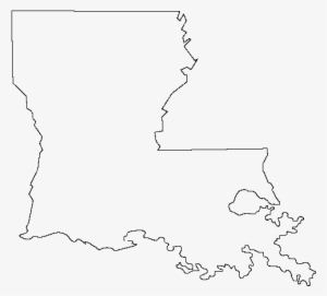 Louisiana Outline Png PNG Images.