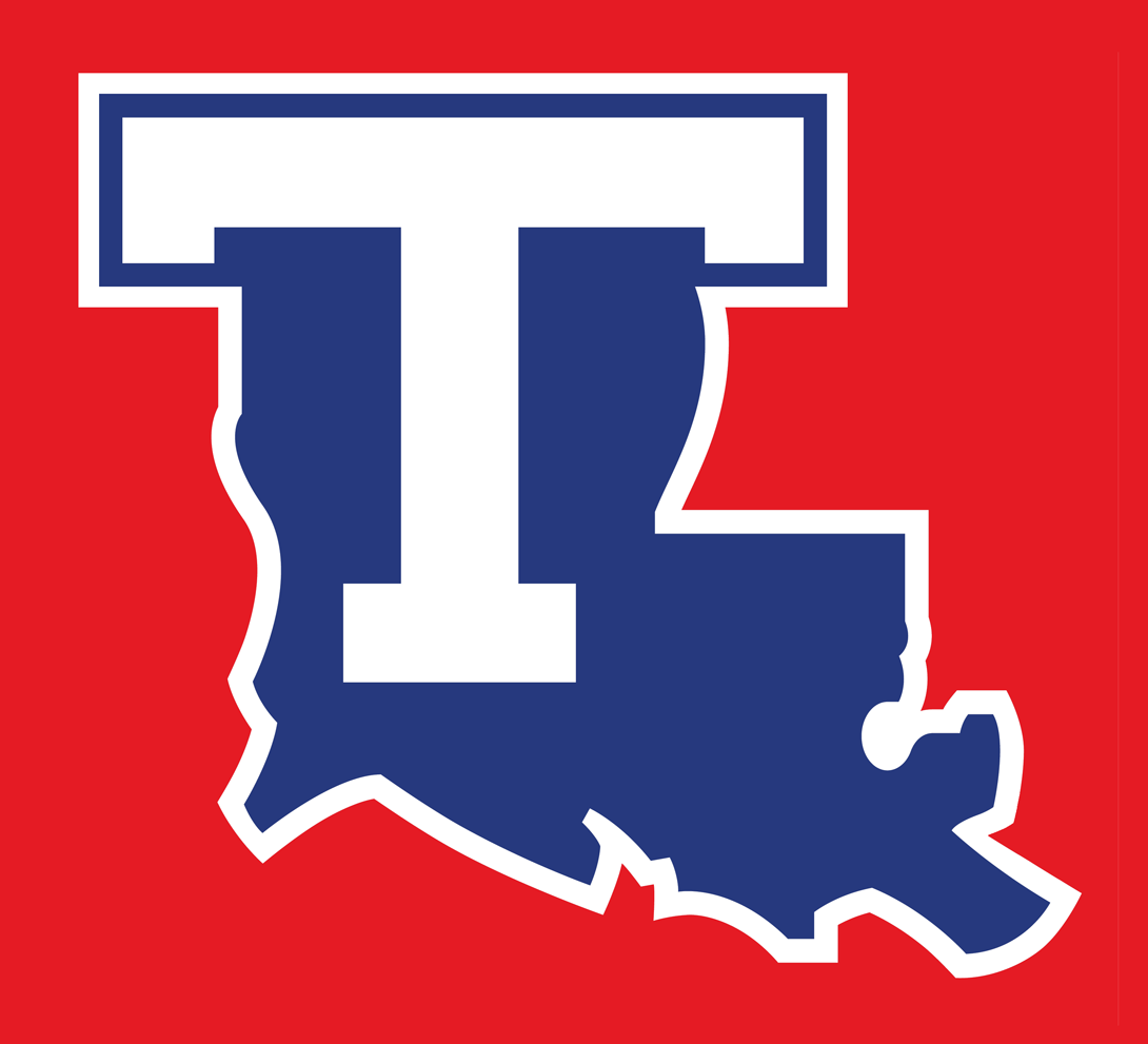 Louisiana Tech Bulldogs Alternate Logo.