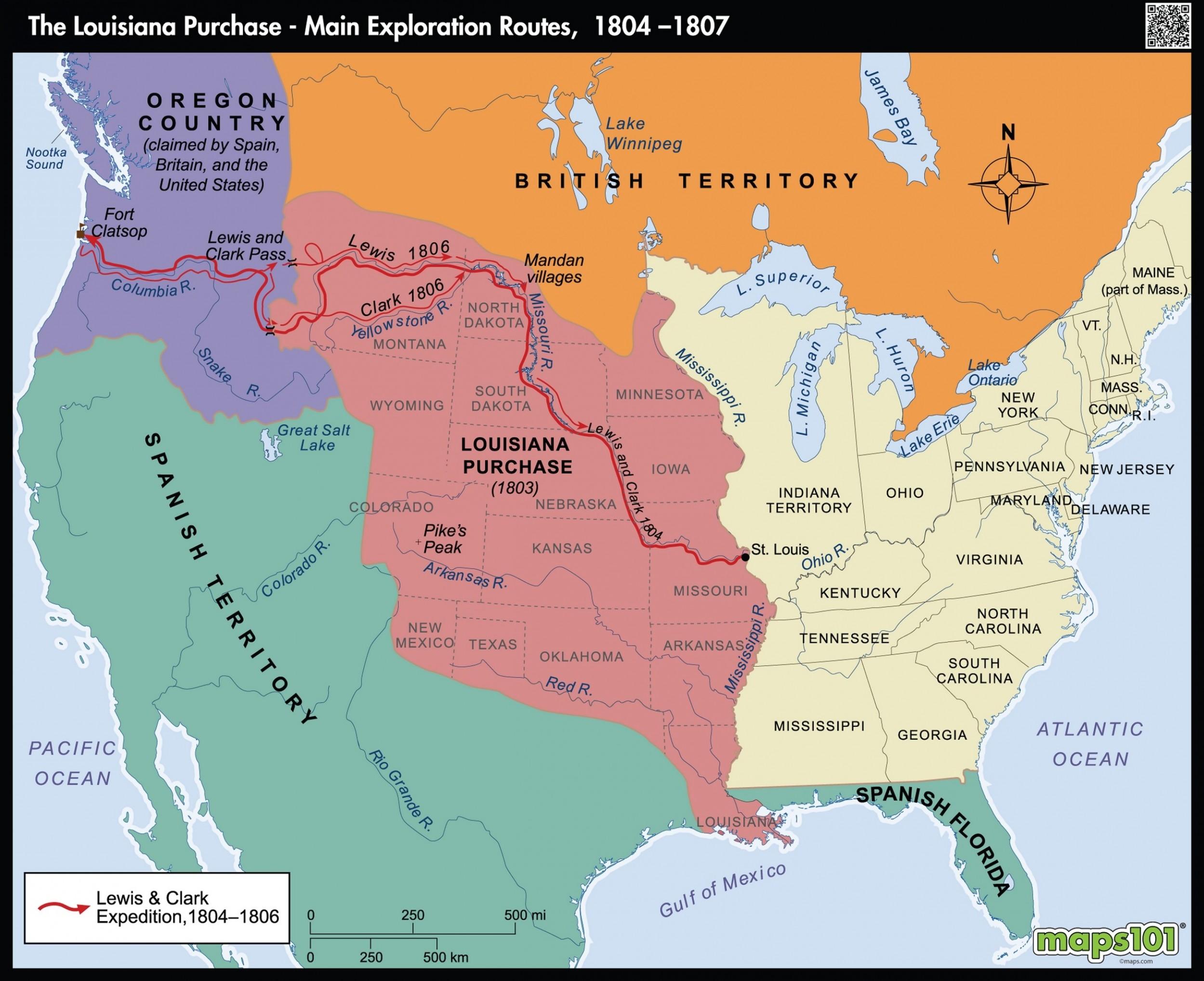Louisiana Purchase Map Worksheet.