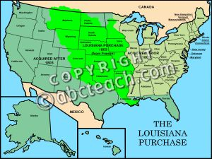 Showing post & media for Cartoon louisiana purchase map.