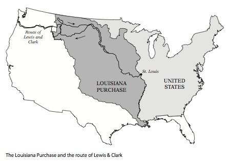 Watch more like Louisiana Purchase Black And White.