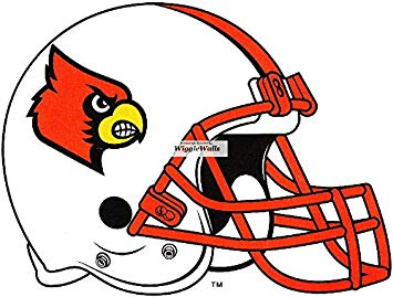 Amazon.com: 5 Inch Cardinal Football University of.