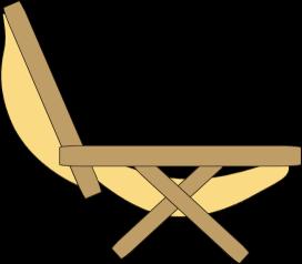 Lounge Chair Clip Art.
