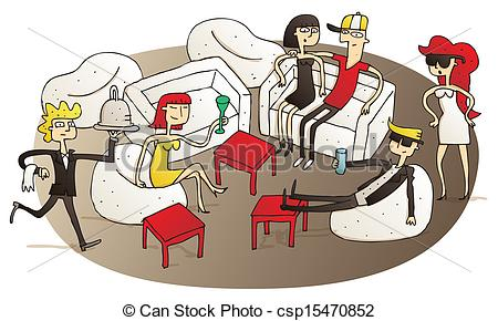 Lounge Illustrations and Clipart. 15,051 Lounge royalty free.