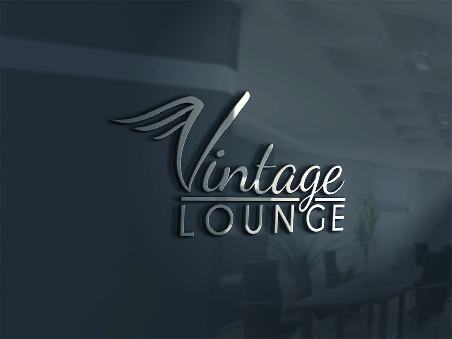 Entry #43 by asnpaul84 for Vintage Lounge Logo.