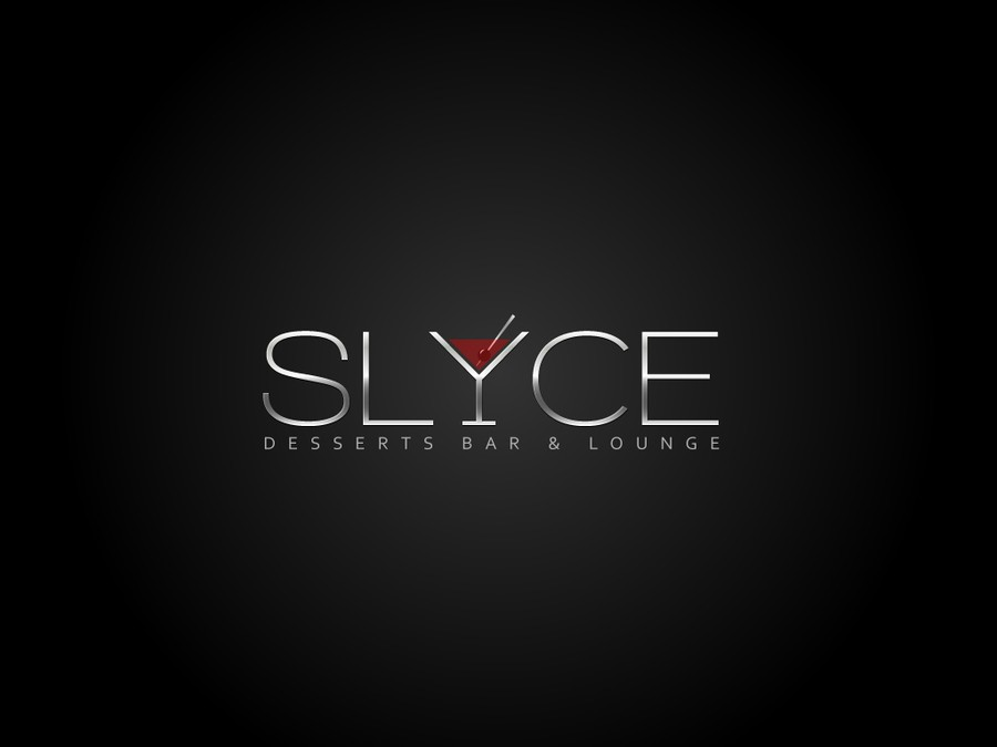 SLYCE Desserts Bar & Lounge needs a new logo.