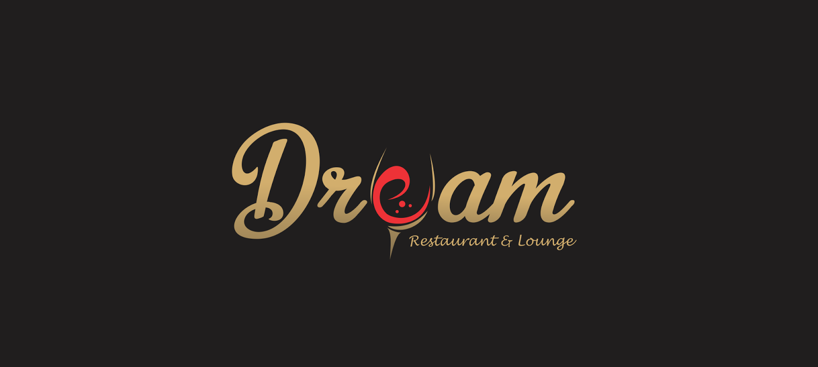 Simple restaurant and lounge logo design ~ Ehroo.