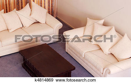Stock Photograph of luxurious lounge suite k4814869.
