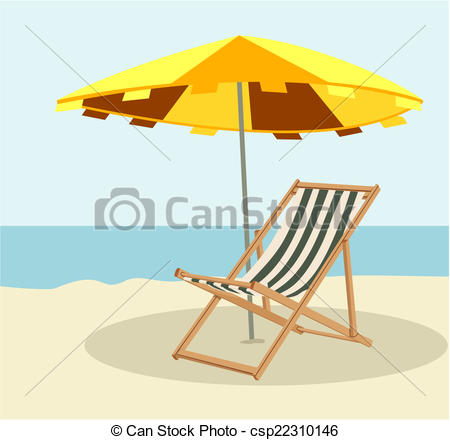EPS Vector of Lounger.