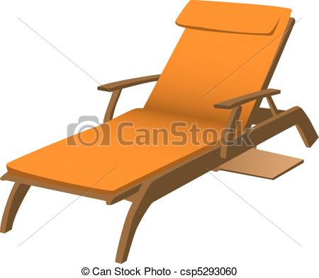 Vector Clipart of Lounge Chair.