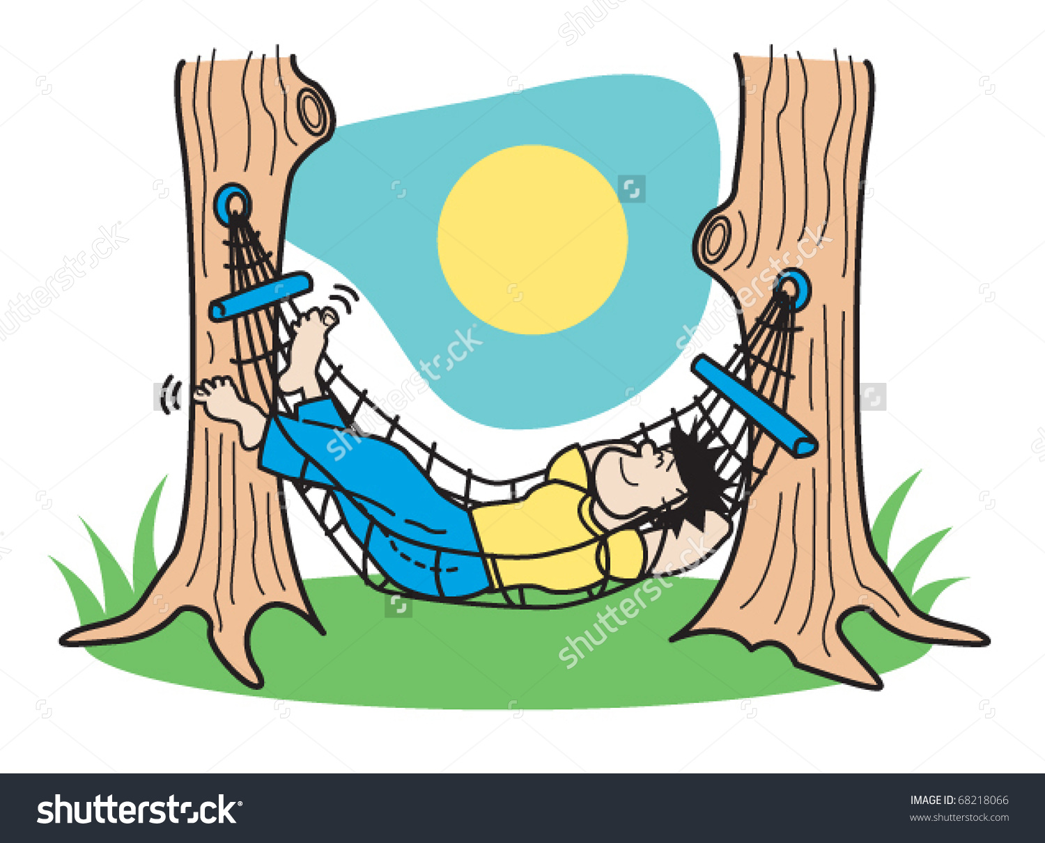 Lounging clipart - Clipground