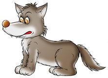Grey Wolf Stock Illustrations.