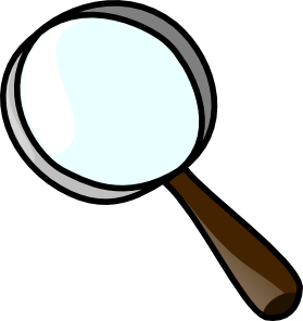 Magnifier Clip Art at Clker.com.
