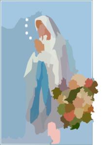 Piusxii Lourdes Clip Art at Clker.com.