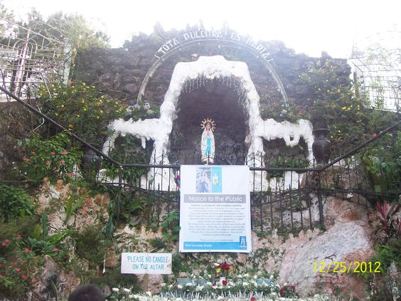 Our Lady of Lourdes Grotto, Baguio City.