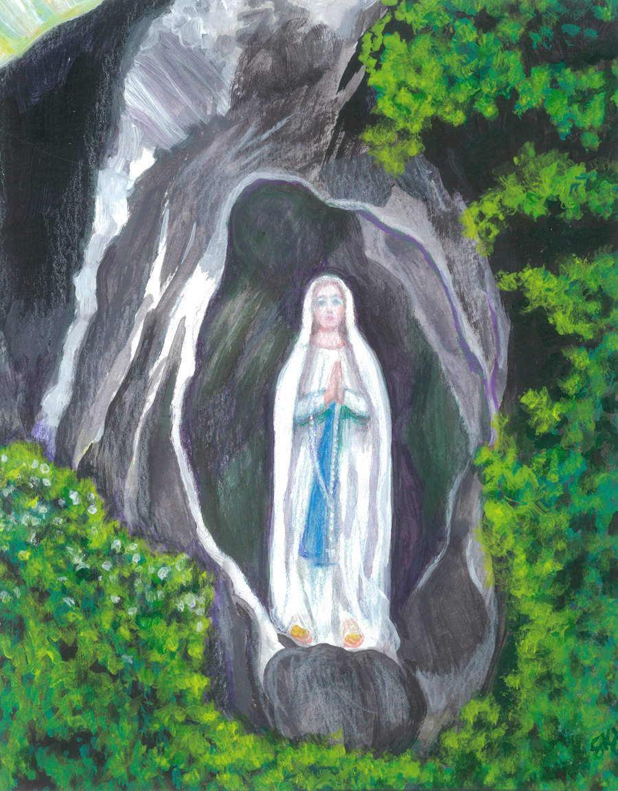 Lourdes grotto.