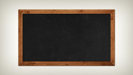 Chalkboard PSD Clipart Picture Free Download.