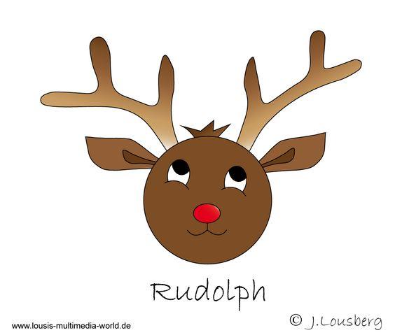 Glucksies #Rentier #Weihnachten #christmas #Lousberg #Illustrator.