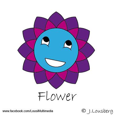 Glucksies #Flower #Blume #Illustrator #Lousberg.