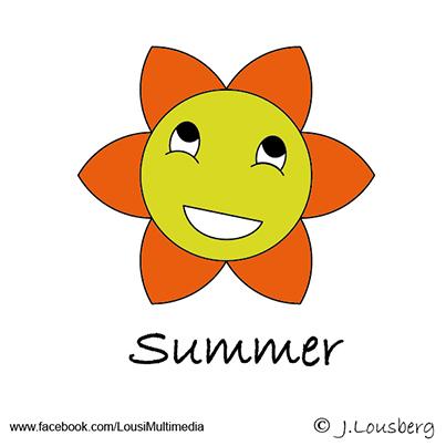Glucksies #Summer #Sommer #Sonne #sun #Illustrator #Lousberg.