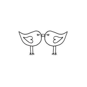 love bird clip art.
