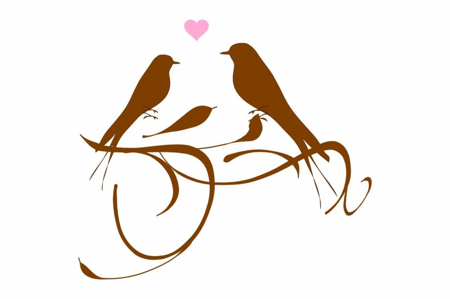 Love Birds Vector Png Two Love Birds Png.