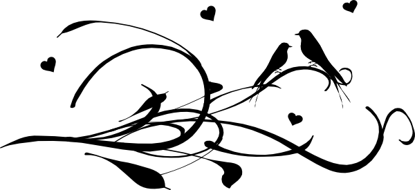Love birds clipart.