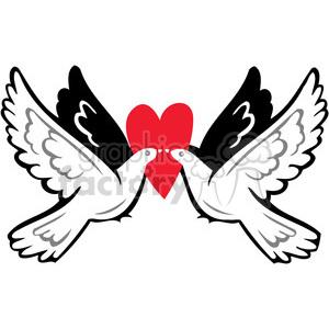 love birds clipart. Royalty.
