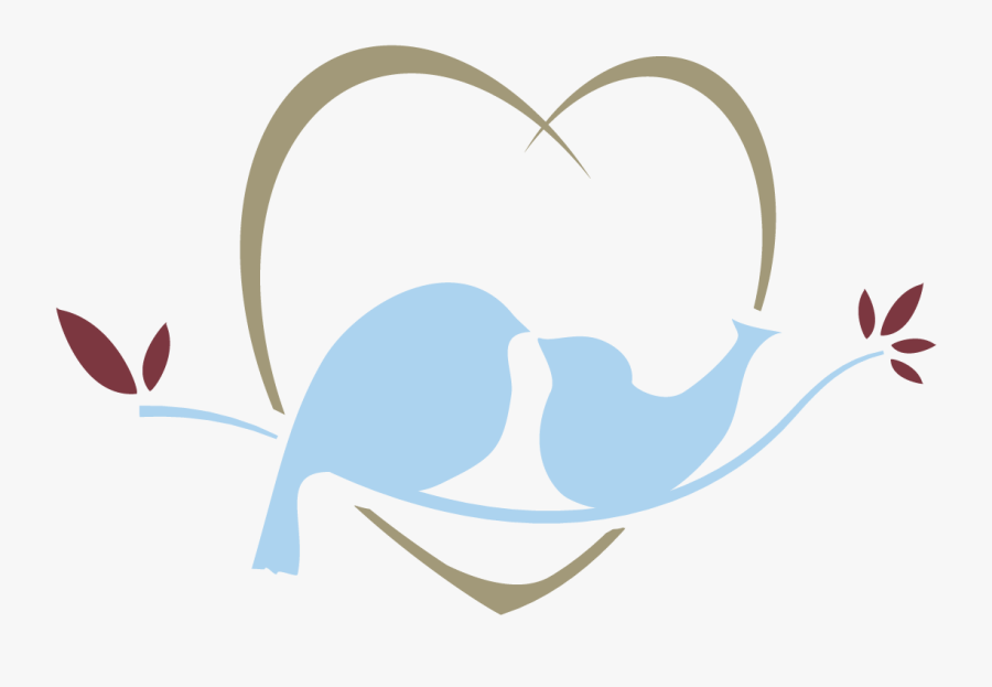 Lovebirds Clipart Png Image.