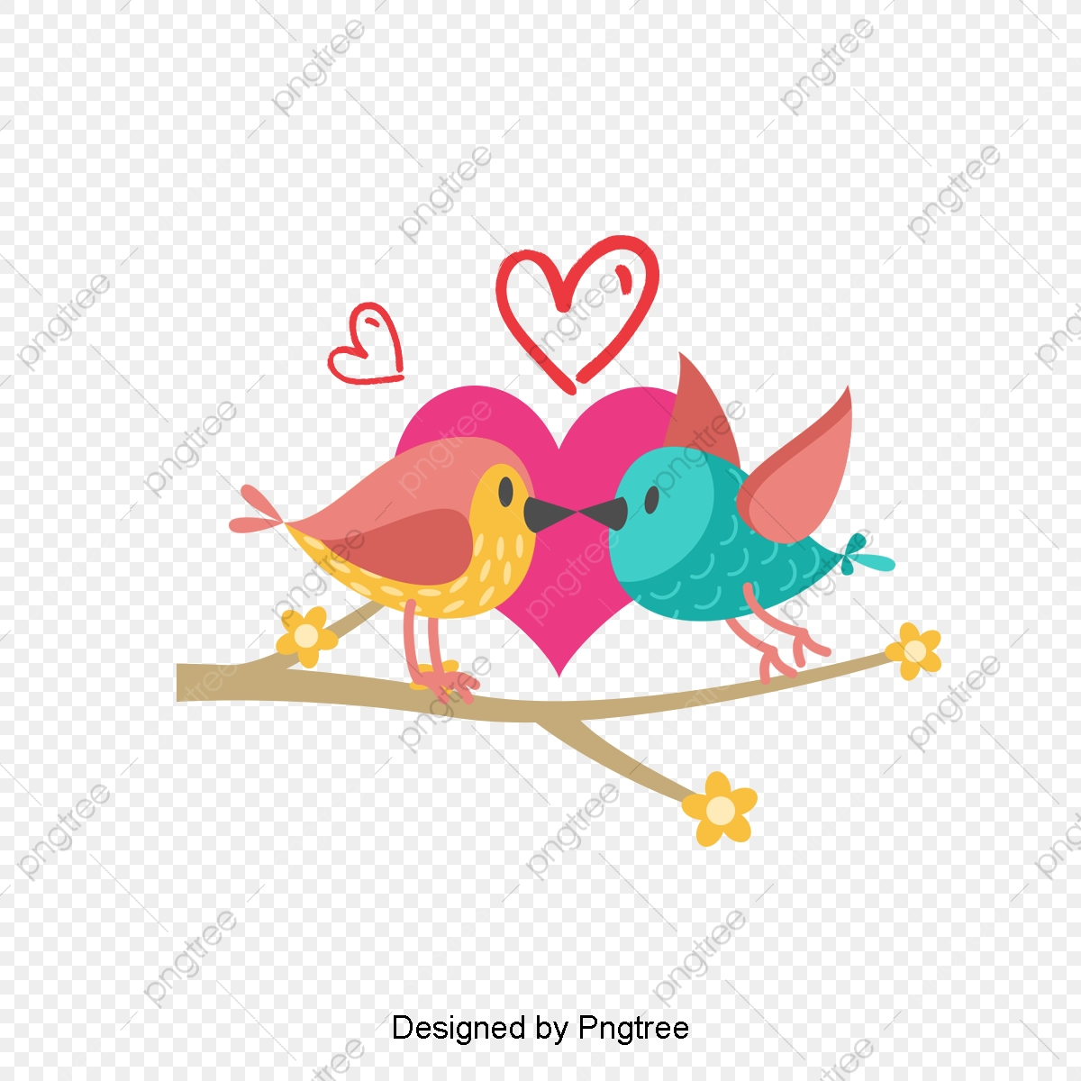 Qixi Festival Lovebirds, Qixi Festival, Lovebirds, Loving.