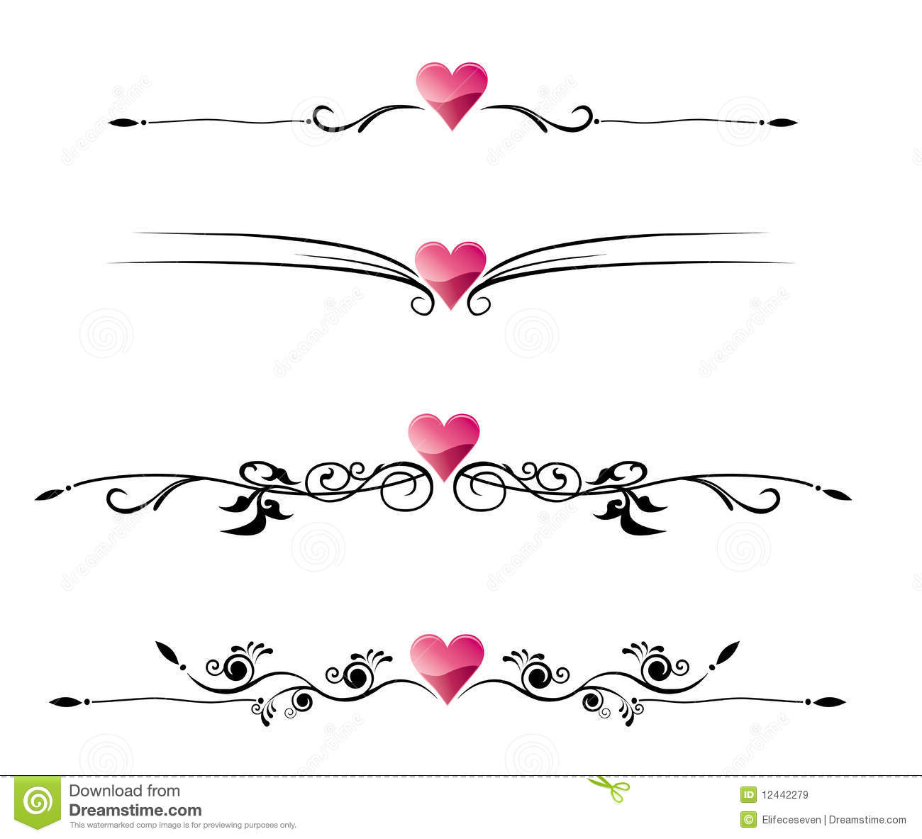 Love border stock vector. Illustration of gothic, text.
