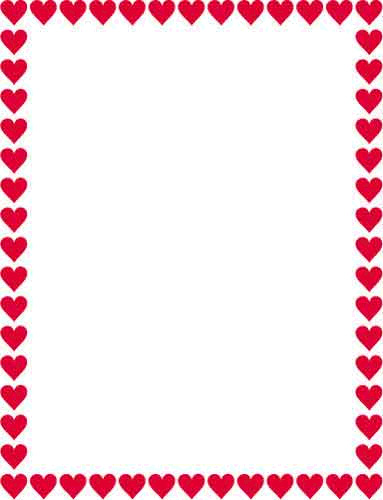 Free Heart Border For Word, Download Free Clip Art, Free.