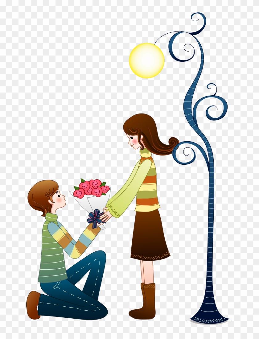 B *✿* Love Cartoon Couple, Love Couple, Cartoons Love.