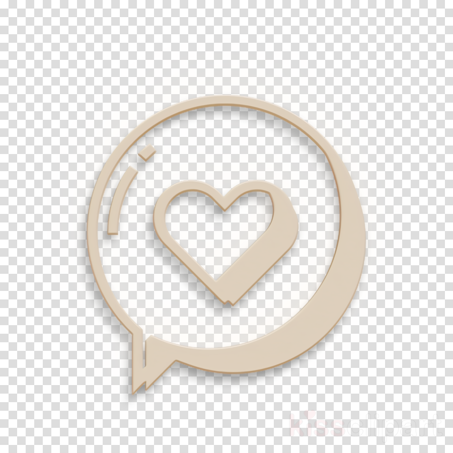 chat icon circle icon love icon clipart.