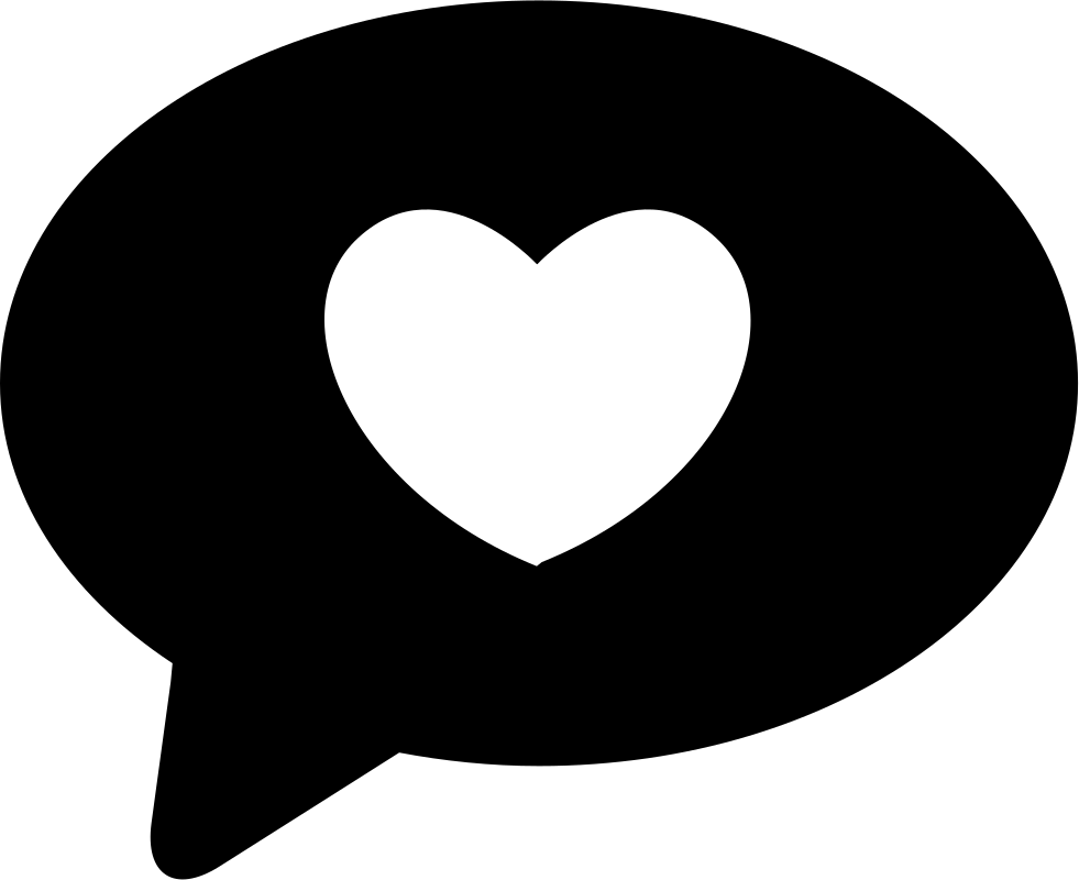 Love Chat Svg Png Icon Free Download (#33565.