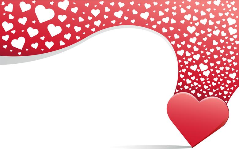 heart love background.