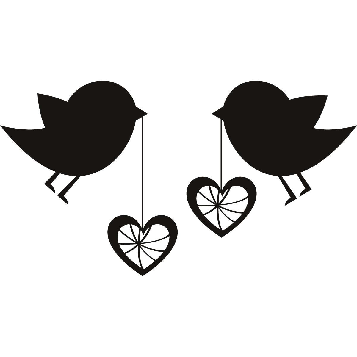 Love clipart black and white Beautiful Cosy Love Clipart.