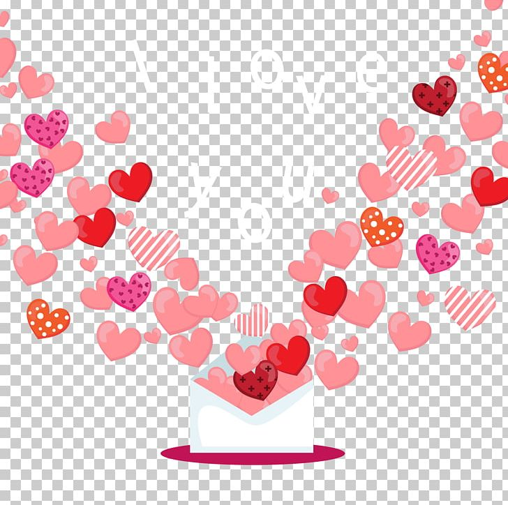 Love Envelope Computer File PNG, Clipart, Background Vector.